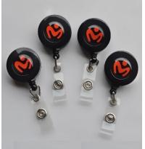 China Round retractable Custom Badge Reel wholesale