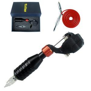 China Black Color Pipe Motor Rotary Tattoo Machine Kit on sale