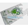 China cornstarch biodegradable bag, dog waste bag, compostable bag for home and community, Kitchen Custom Printed Plastic Comp wholesale