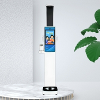China Body Fat Height Weight BMI Blood Pressure Machine LCD HD 19.0 Inch wholesale