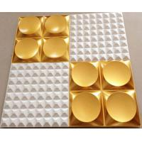 Paintable Waterproof  3d PVC Wall tile for Interior Home/ Hotel Wall decoration