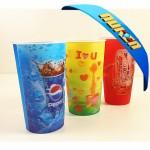 China 3D Lenticular plastic cup on sale