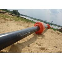 China 12 Inch Dredge Pipe Floater Pipeline Round Shaped Steel  Material For Construction wholesale