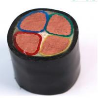 China 16mm 4 Cores Insulated Power Cable 1kV Copper Core Xlpe Insulated Pvc Sheath on sale