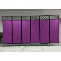 China China Shenzhen factory direct saling moveable folding screen for Store interior Furnishing decorative in wrought iron wholesale