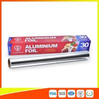Customized Kitchen Aluminium Foil Roll Food Grade , Aluminium Wrapping Paper for sale