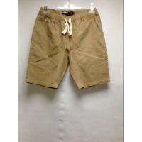 China Casual Style Mens Colored Chinos Twill Pants , Simple Design Mens Short Beach Pants wholesale