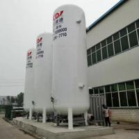 China cryogenic tank for liquid gas oxygen cylinder filling station wholesale