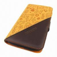 China Luxury Grade PU/Leather Case/Cover for Samsung Galaxy Note 2/N7100 wholesale