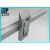 Double Tracks Scalable conveyor Aluminum Tubing Joints Prevent Flow Back Lock Opposite Movement for sale