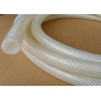 China High Pressure Polyester Braid Reinforced Silicone Hose Corrosion Resistant FDA on sale