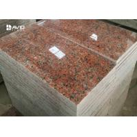 China G562 Maple Red Granite Stone Tiles For Flooring And Wall Cladding wholesale
