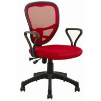 China Office Task Chair with Nylon Armrest, Made of Mesh Material and Plastic Back, 320mm Nylon wholesale