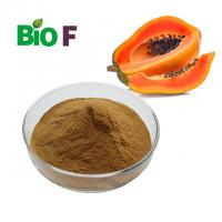 China Concentrate Nature Papaya Extract Powder Alleviated Inflammation ISO Certificate wholesale