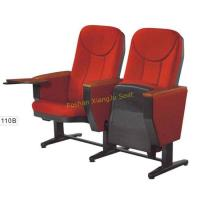 China Movable PP Panel Lecture Hall Meeting Room Seating Chair With Writing Tablet wholesale