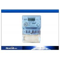 China LCD Display 1 Phase Electronic Kwh Meter 50Hz / 60Hz  Frequency on sale