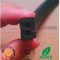 China electrical cabinet black foam rubber strips wholesale