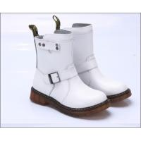 China Real leather women shoes Doc martens boots wholesale