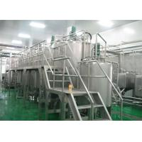 China Complete Fully Automatic Bottled Juice Production Line For 2T / D - 500 T / D wholesale