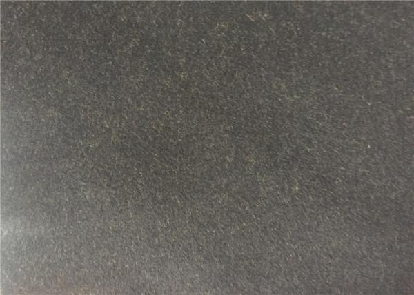 Quality Dark Olive Soft Coat Weight Wool Fabric , Wool Blend Fabric Waterproofing for sale
