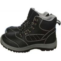 China Balck PU sole men safety shoes wholesale