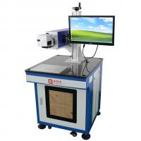 China Environmental Protection Co2 Laser Engraver Machine Blue Color For Furniture CE wholesale