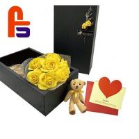 China Black Color Printing Cardboard Packing Gift Box HS Code 48196000 FSC Compliant wholesale
