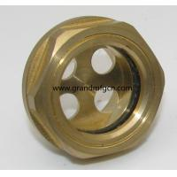 China Metric thread M16 M18 M20 M22x1.5 brass oil level sight glass with reflector no finishing , China on sale