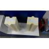 China White High Purity Corundum Mullite Brick 230 X 114 X 65mm Size For Furnace wholesale