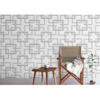 China Wall Art Modern Style Home Decor Wallpapers / 3D Wallpaper For Home Wall TV Background wholesale