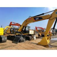 China 320d used caterpillar excavator for sale USA   tractor excavator 5000 hours 600mm chain CAT 3066 eng  excavator for sale wholesale