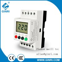 China SVR1000  single phase protection relays over&under voltage monitor with LCD display  220VAC  for compressors delay time on sale