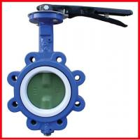 China High Temperature Butterfly Valves 3 Way Ductile Iron / Stainless Steel on sale