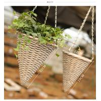 China Decorative hanging basket Willow basket rattan basket wholesale