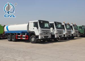China New Water Tank Truck Liquid Tanker Truck 336HP 20000L 20M3 20 Tons Water Tank Truck wholesale