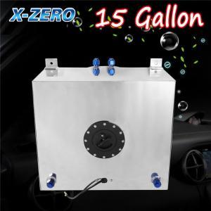 Buy cheap 15 Gallon Aluminum Race Drift Fuel Cell Tank Lever Sensor Lightweight from wholesalers