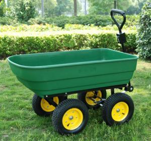 China dump cart TC4253 Dumping Warenkorbgar den tool cart garde Werkzeugwagen wheelbarrow wholesale
