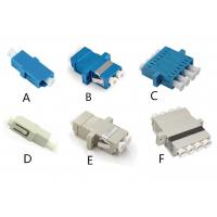 Buy cheap LC-LC LC Duplex Fiber Optic Adapter Optical Connector Coupler , LC Adaptor from wholesalers