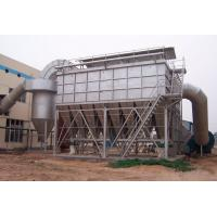 China 150 Degree Pulse Dust Filter With Cloth Bag , Industrial Baghouse Dust Collectors wholesale