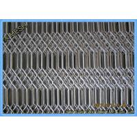 China Hot Dipped Galvanised Expanded Metal Mesh , Expanded Stainless Steel Mesh Grill For Fencing / Fiji wholesale