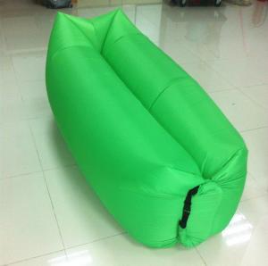 China New factory wholesale square pillow lamzac hangout sleeping bag camping air sofa lay bed wholesale