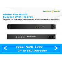 China Multi-functional  Digital TV Encoder and Decoder with Two ASI&IP input and two SDI&ASI Ouput wholesale
