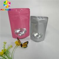 China 3.5g Seed Powder Foil Pouch Packaging Plastic Heat Seal Bags With Clear Window wholesale