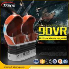China 22PCS VR +70 PCS  Electric Full Motion Amusement Ride 9D Virtual Reality Simulator Triple Cinema Chair wholesale