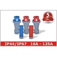 China 3 Pin 4 Pin 5 Pin IEC CEE Male Electrical Receptacle Industrial Plug Outlets wholesale