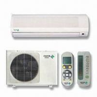 China Split Air Conditioner with Auto Swing Enlarges Winding Area, Increase Heat Exchange Efficiency wholesale
