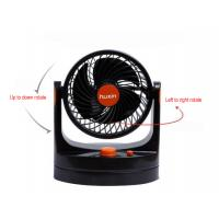 China Balck Universal Car Accessories 360 Degree Rotatable Electric Fans For Cars on sale