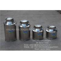 China Safety Double Layers 40L Stainless Steel Milk Bucket For Dairy Farm wholesale