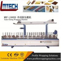 China Mdf scotia moulding wrapping laminating machine for laminate flooring wholesale