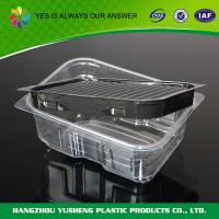 China Blister Tray Packaging  , Pvc Blister Packaging Small Sushi Container wholesale